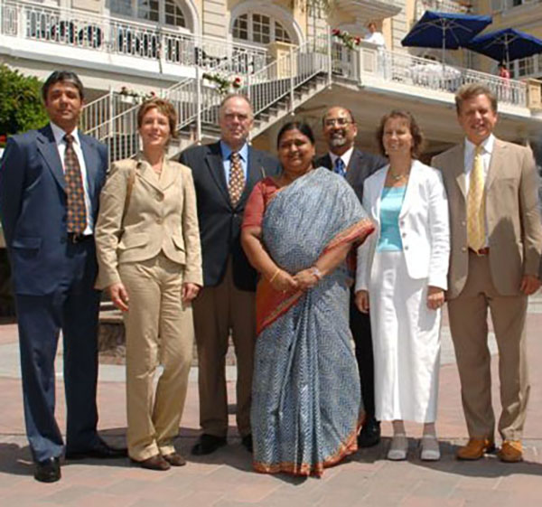 Indian Health Minister of State in Bad Ems 2007
