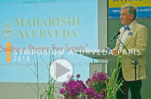 Lothar Pirc, Ayurveda Congress, Paris