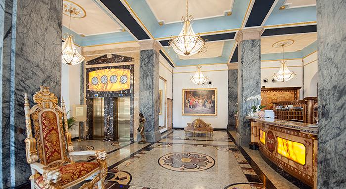 Häcker's Grand Hotel – Rezeption