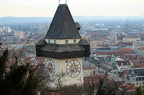 City view from Graz